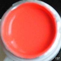 Цветной гель (гель-краска) СОСО №137