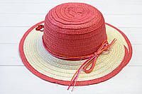 Шляпа детская Макади коралловая