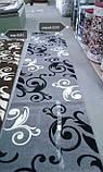 Ковер рельефный Legenda 0391 серый, фото 5