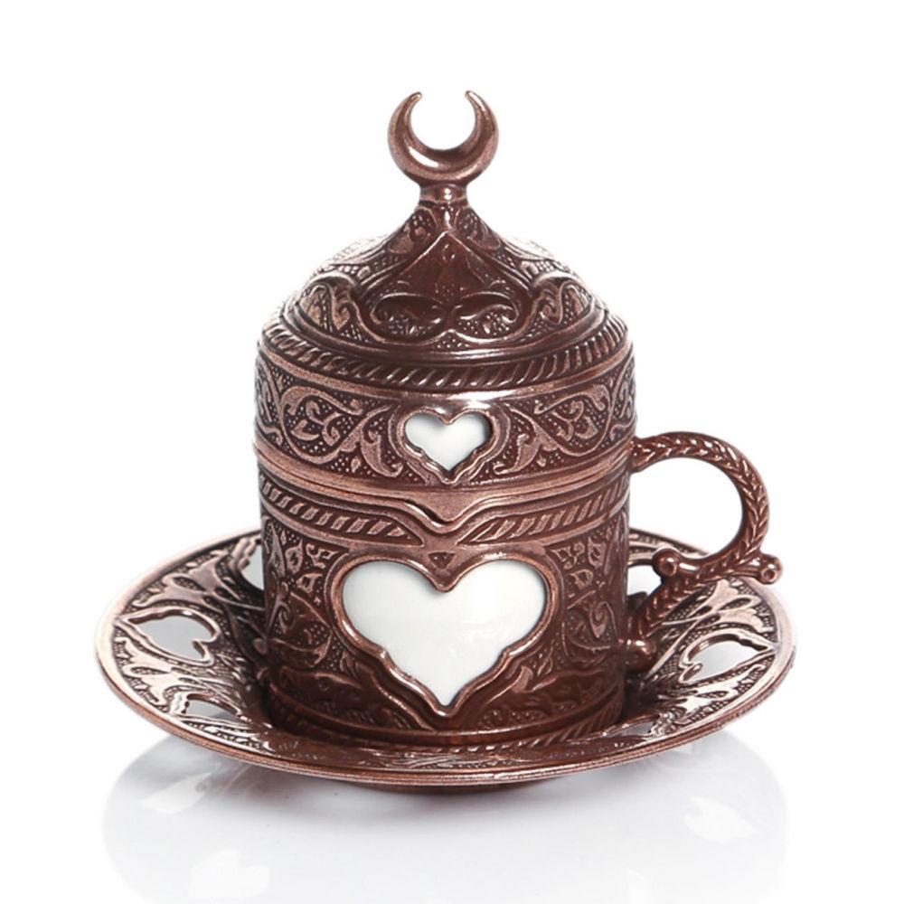 Чашка для кофе Бронзовое сердце