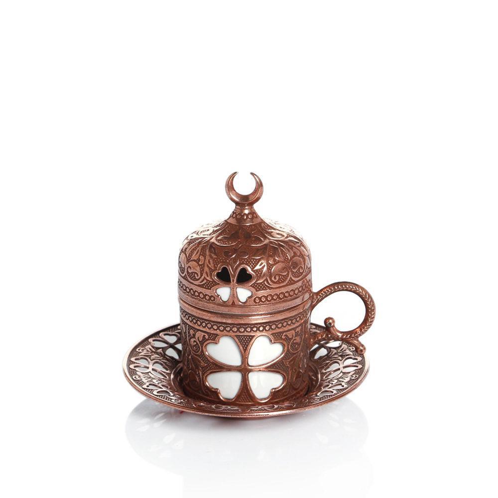 Чашка для кофе Sena Бронзовый цветок