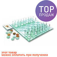 Алко-игра 3 в 1 - шахматы, шашки и карты (пьяные шахматы, шашки, карты) / алкогольные игры