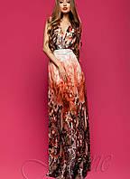 Женское шифоновое платье макси (Карри jd)