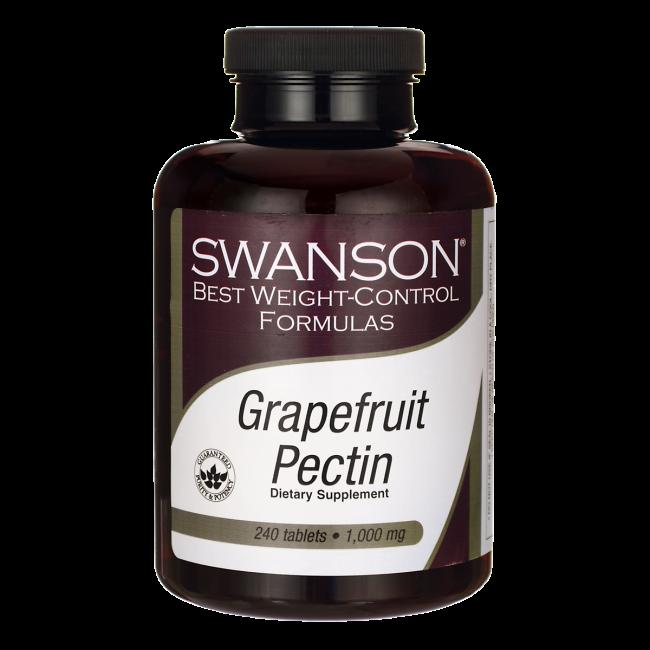 Пектин Грейпфрутовый, 1000 мг. 240 таблеток