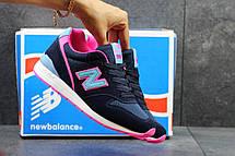 Женские кроссовки New Balance 996 синие с розовым 36р, фото 3