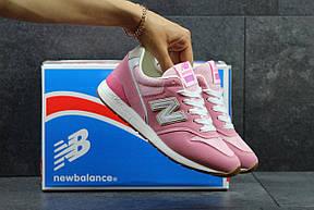 Жіночі кросівки New Balance 996 рожеві, фото 3