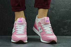 Жіночі кросівки New Balance 996 рожеві, фото 2