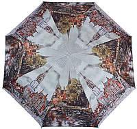 Необычный и удобный женский зонт полуавтомат ZEST (ЗЕСТ) Z23625-5038 разноцветный