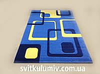 Ковер рельефный Legenda 0395 blue