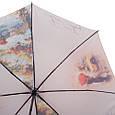 Женский зонт полуавтомат ZEST (ЗЕСТ) Z23625-3003 бежевый, фото 3