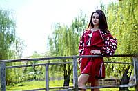 Платье с вышивкой СЖ 9745