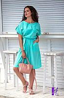 Женское летнее платье сафари 48-54 размеров