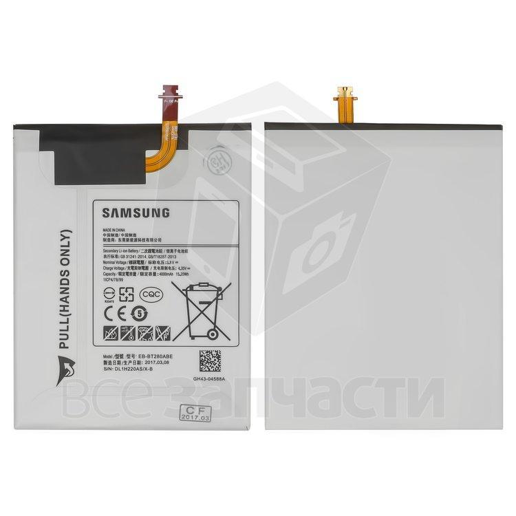 """Аккумулятор EB-BT280FBE/EB-BT280ABE для планшетов Samsung T285 Galaxy Tab A 7.0"""" LTE, Li-ion, 3,8 В, 4000 мАч"""