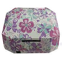 Led Лампа 36 UV цвет пастель цветы