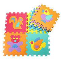 Мат напольный коврик пазл Puzzle Mat детский EVA Foam