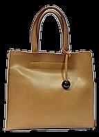 Стильная женская сумка GALANTY из натуральной кожи бежевого цвета SJR-028065, фото 1