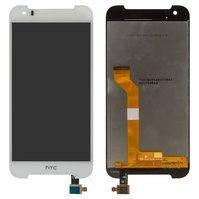 Дисплей для мобильного телефона HTC Desire 830, белый, с сенсорным экраном, original (PRC)