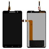 Дисплей для мобильных телефонов Lenovo S8 S898T, S8 S898T+, черный, с сенсорным экраном