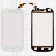 Сенсорный экран для мобильного телефона Nomi i401 Colt, белый, (117x60,5 мм), #Y106060E1-R