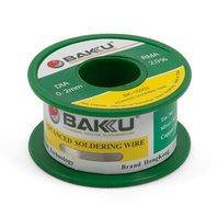 Припой BAKU BK-10002, Sn 97% , Ag 0,3%, Cu 0,7%, флюс 2%, 0,2 мм, 50 г