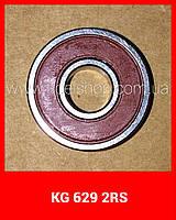 Шариковый радиальный подшипник, однорядный, 629 2RS KG