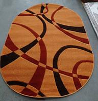 Ковер рельефный Legenda 0353 orange