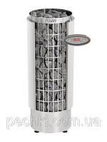 Каменка электрическая для сауны Harvia Cilindro HEE PC110HEE/PC110VHEE с выносным пультом, фото 1