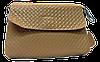 Оригинальная женская сумочка из натуральной кожи бежевого цвета MNW-110988