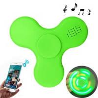Светящийся спиннер с Bluetooth-колонкой (Spinner, Handspinner) успокаивающая вертушка для рук