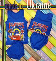 Комплект нижнего белья для мальчиков трикотажный, кулир, размер 80/86, 86/92, 92/100, 104/110, 110/116 см