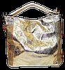 Прекрасная женская сумочка цвета золота на плечо TRT-088802