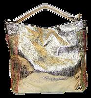 Прекрасная женская сумочка цвета золота на плечо TRT-088802, фото 1