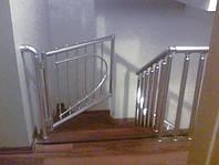 Перила алюминиевые - вертикальные леера