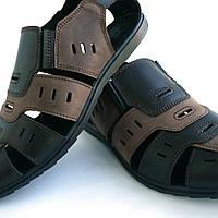 Кожаные сандалии великаны