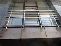 Перила алюминиевые - французский балкон