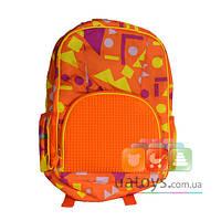 Рюкзак Upixel Geometry Neverland Оранжевый