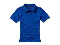 """Рубашка поло """"Calgary"""" женская, синий"""