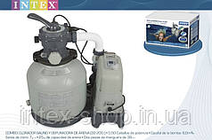 Песочный фильтрующий насос 6м3/ч с хлорогенератором Intex 28678/28676 (56678)