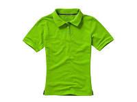 """Рубашка поло """"Calgary"""" женская, зеленое яблоко"""