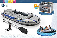 Надувная лодка Excursion (5 человек) 5 Set Intex 68325 (366х168х43 см)