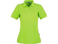 "Рубашка поло ""Forehand"" женская, зеленое яблоко"