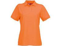 """Рубашка поло """"Boston"""" женская, оранжевый"""
