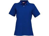 """Рубашка поло """"Boston"""" женская, классический синий"""