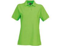 "Рубашка поло ""Boston"" женская, зеленое яблоко"