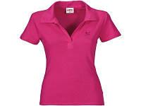 """Рубашка поло """"Hawaii"""" женская, светло-вишневый"""