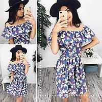 Платье женское 33811 Платья женские летние джинсовые