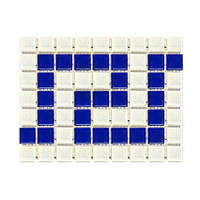 Aquaviva Фриз греческий Aquaviva Cristall W/B бело-синий