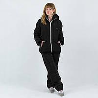 Черный лыжный костюм для женщин