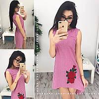 Платье женское с вышивкой 33803 Платья женские летние