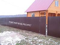 Профнастил СТЕНОВОЙ/КРОВЕЛЬНЫЙ ПС-10, 10мм